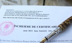 Certificări Notariale